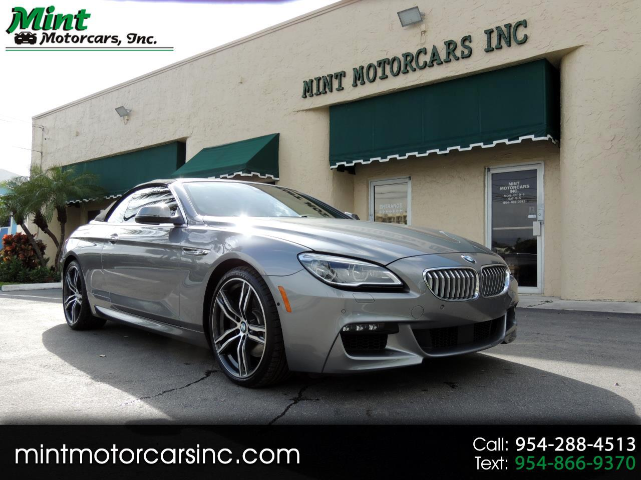BMW 6-Series 650i xDrive Convertible 2018