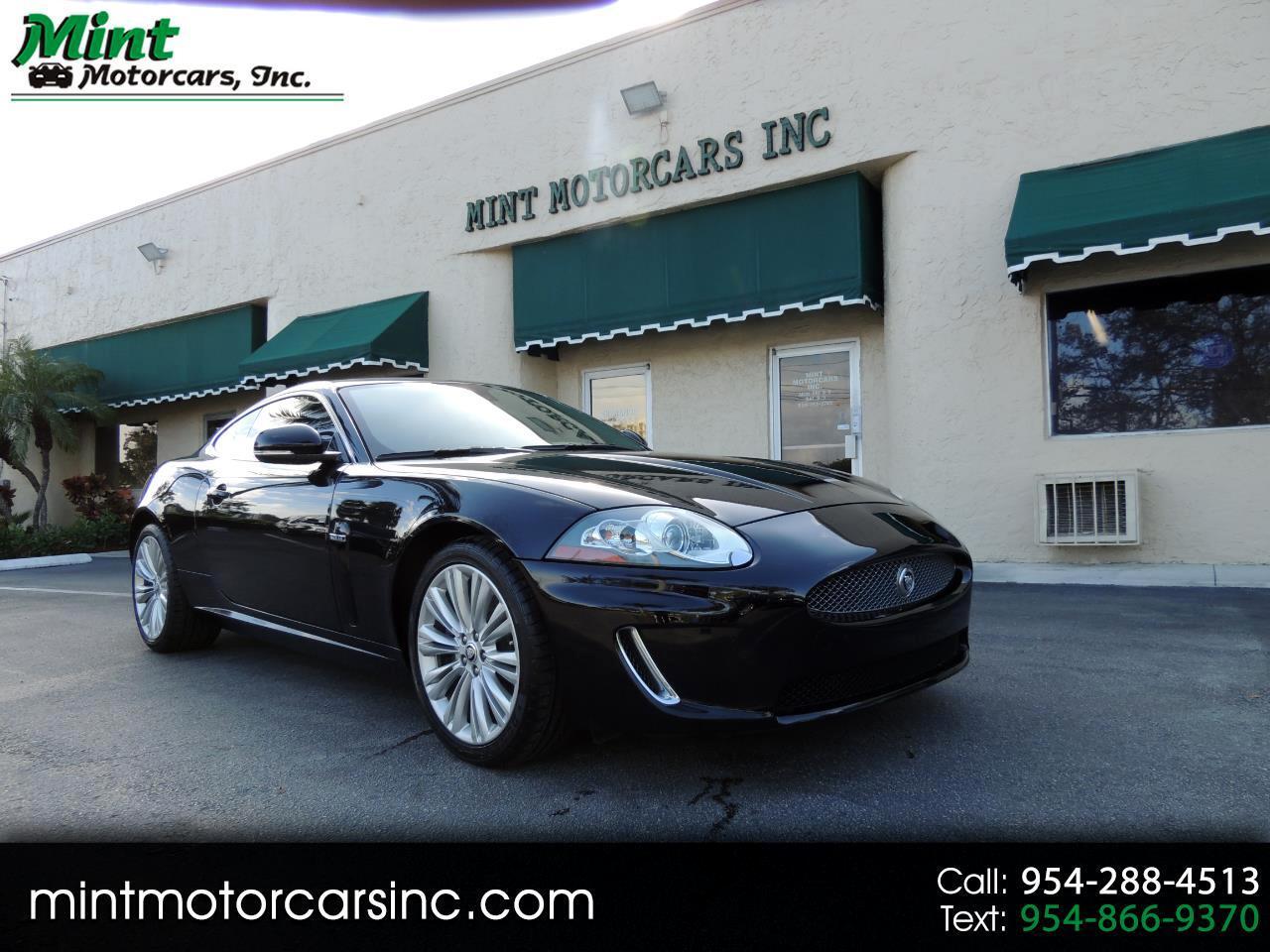 Jaguar XK-Series XK Portfolio Coupe 2010