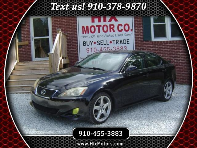 2008 Lexus IS 250 4dr Sport Sdn RWD