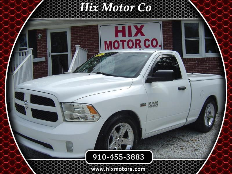 RAM 1500 Tradesman Regular Cab SWB 2WD 2014