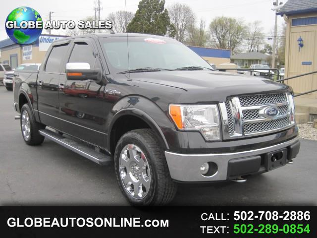 "2010 Ford F-150 4WD SuperCab 163"" Lariat"
