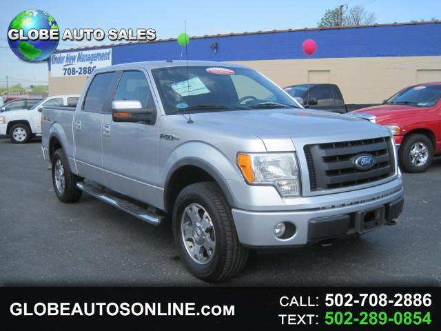 "2010 Ford F-150 4WD SuperCrew 150"" FX4"