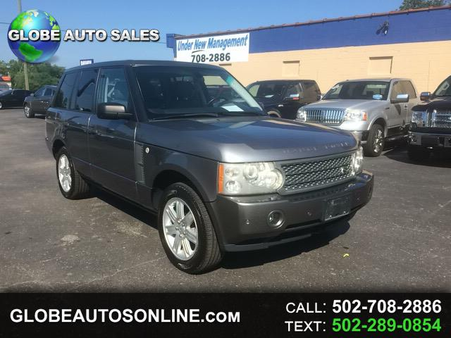 2007 Land Rover Range Rover 4WD 4dr HSE