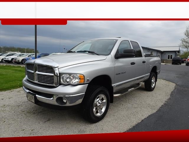 2005 Dodge Ram 2500 Laramie Quad Cab Long Bed 4WD
