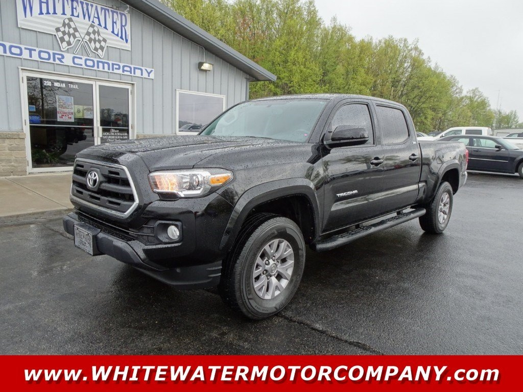Toyota Tacoma 4WD Double Cab LB V6 AT SR5 (Natl) 2016