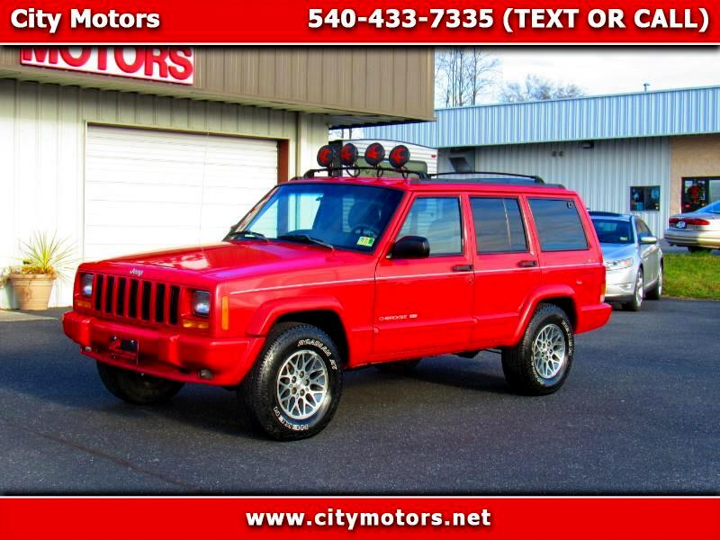 1998 Jeep Cherokee Limited 4-Door 4WD
