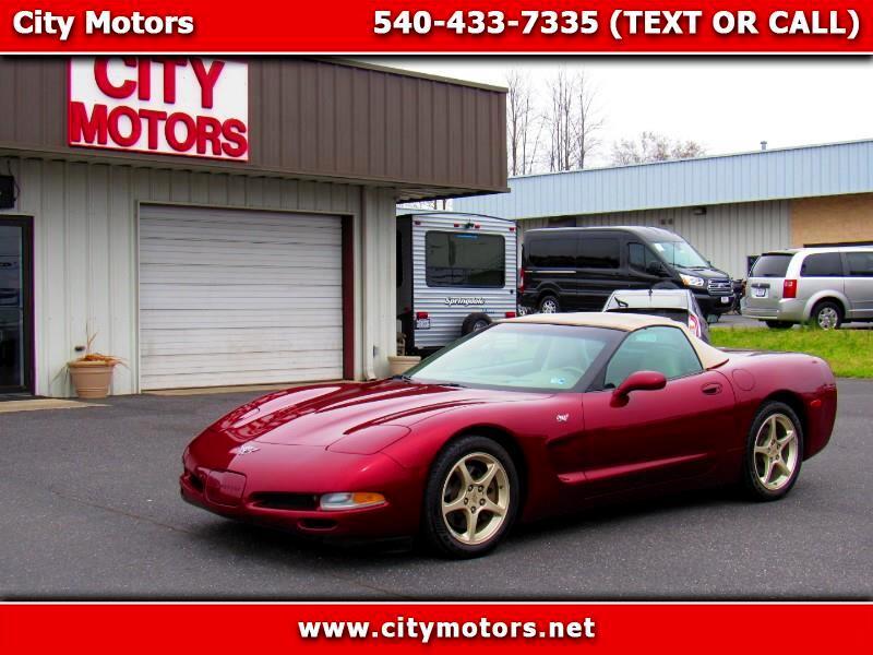 2003 Chevrolet Corvette 2dr Convertible