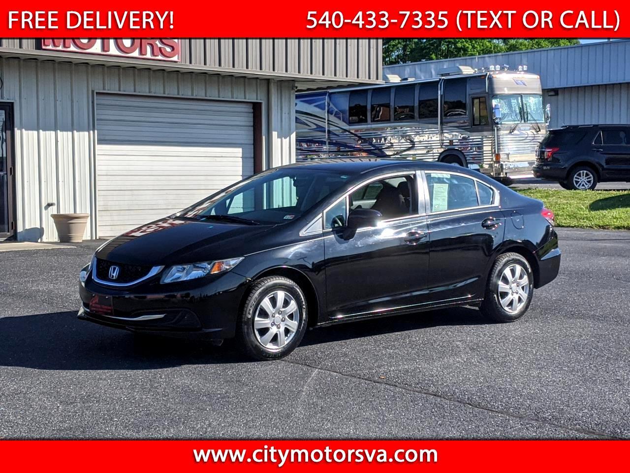 Honda Civic Sedan 4dr CVT LX 2014