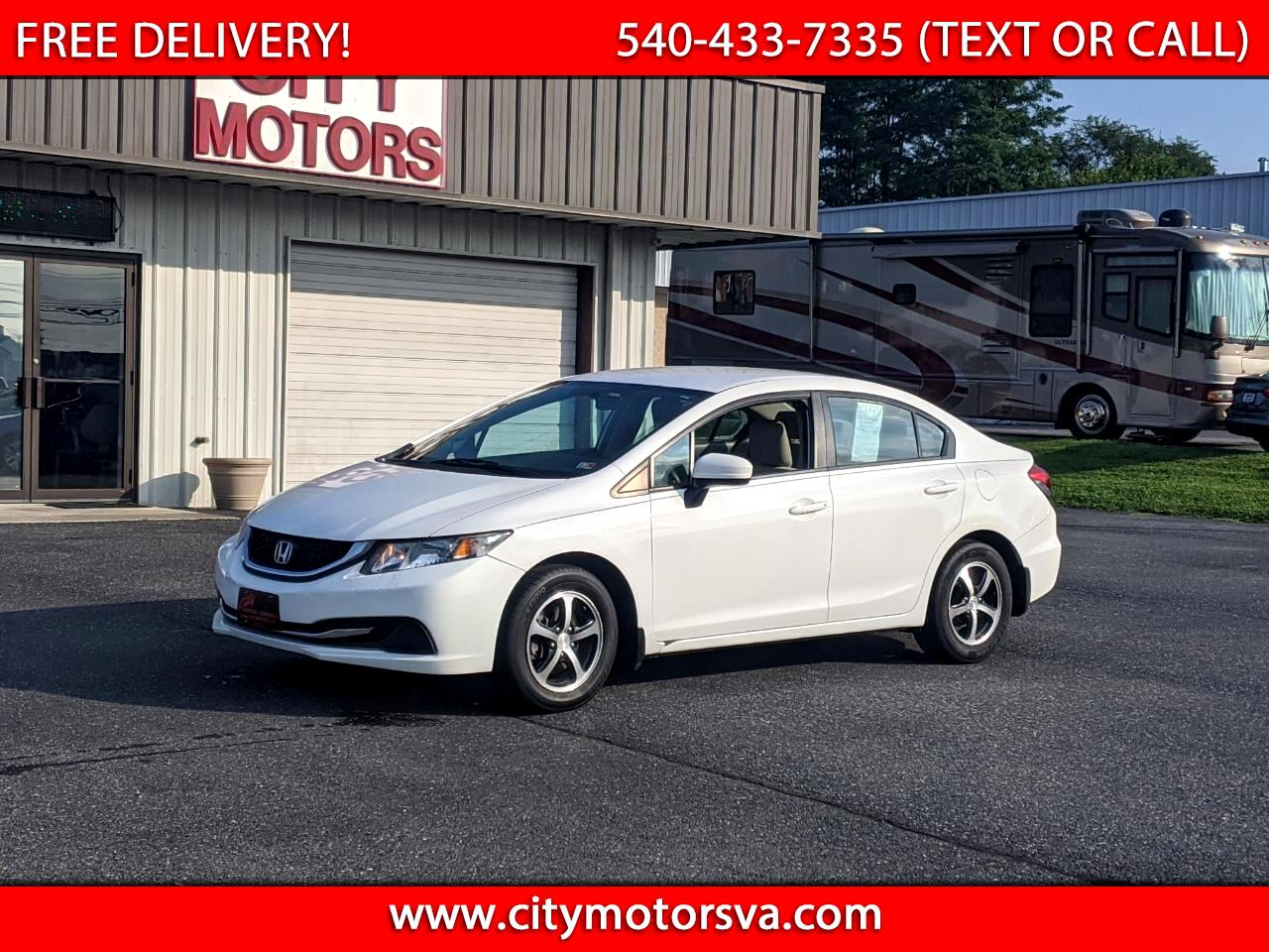 Honda Civic Sedan 4dr CVT SE 2015