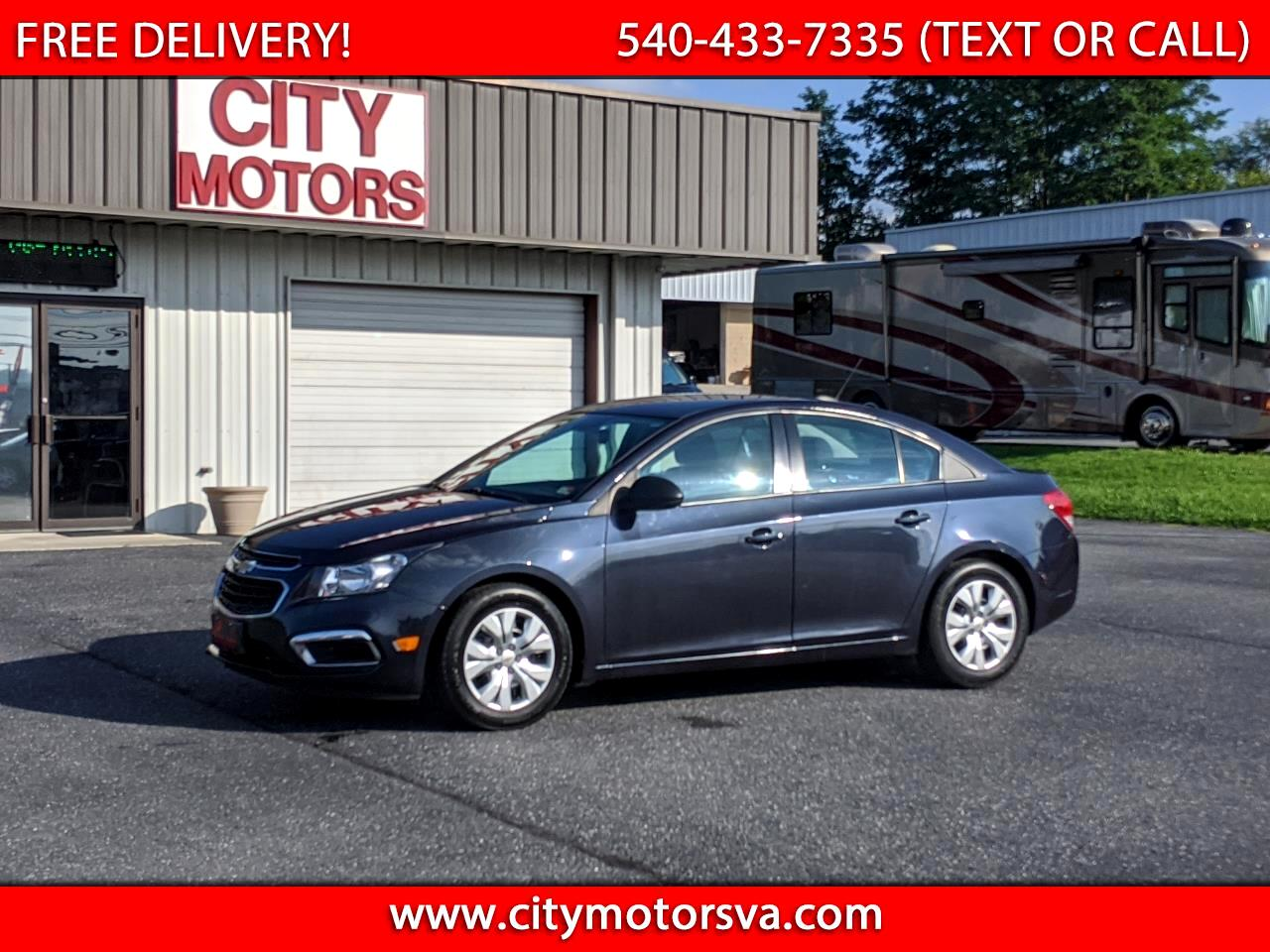 Chevrolet Cruze Limited 4dr Sdn Auto LS 2016