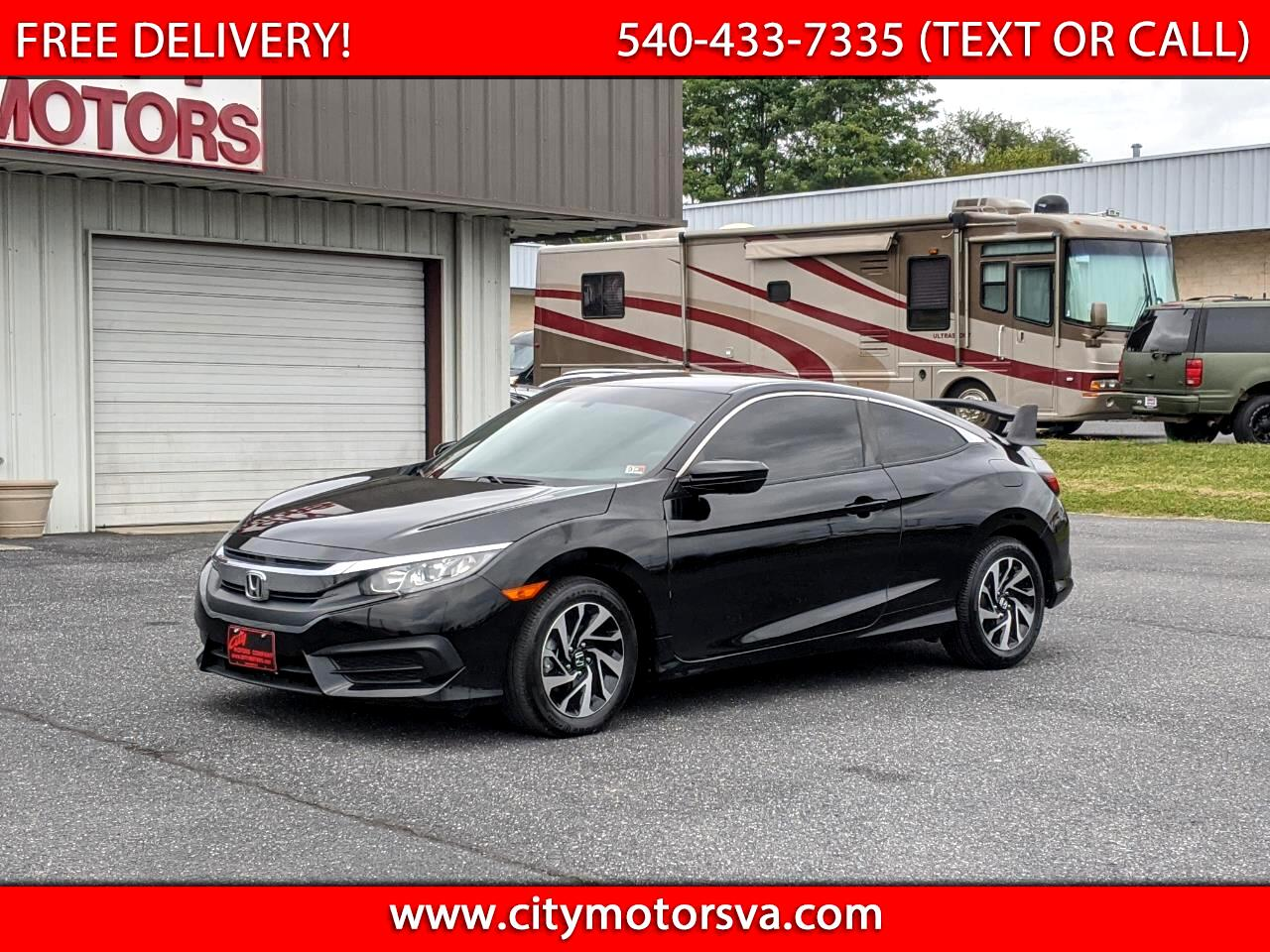 Honda Civic Coupe LX Manual 2018