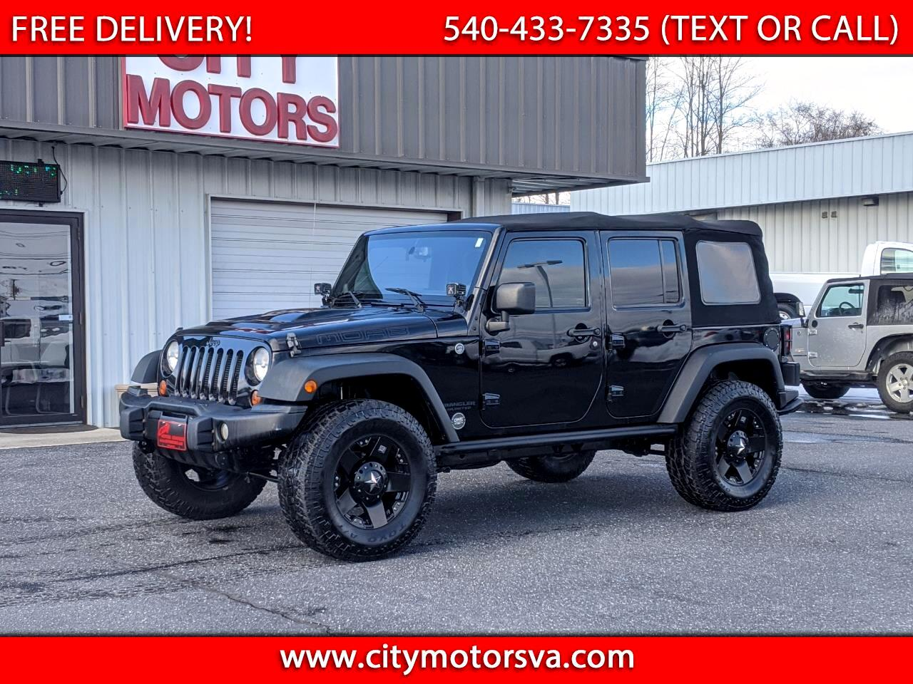 Jeep Wrangler Unlimited 4WD 4dr Moab *Ltd Avail* 2013