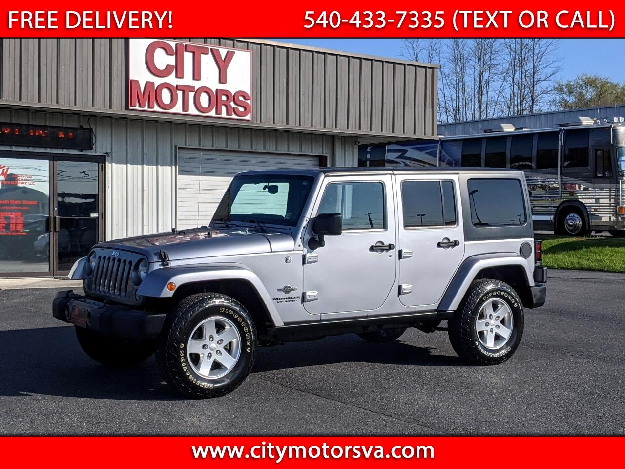 Jeep Wrangler Unlimited 4WD 4dr Freedom Edition *Ltd Avail* 2014