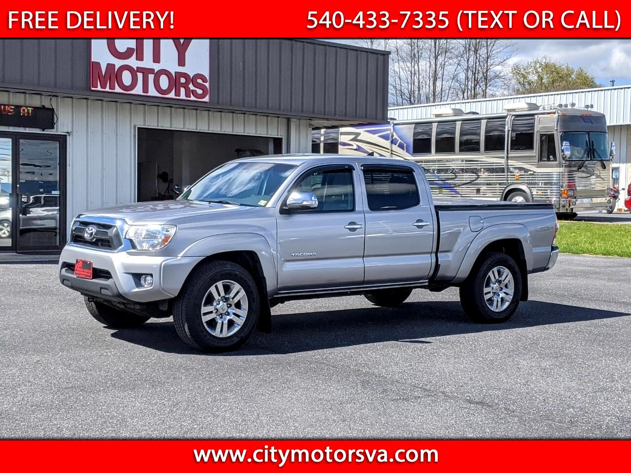 Toyota Tacoma 4WD Double Cab LB V6 AT (Natl) 2015