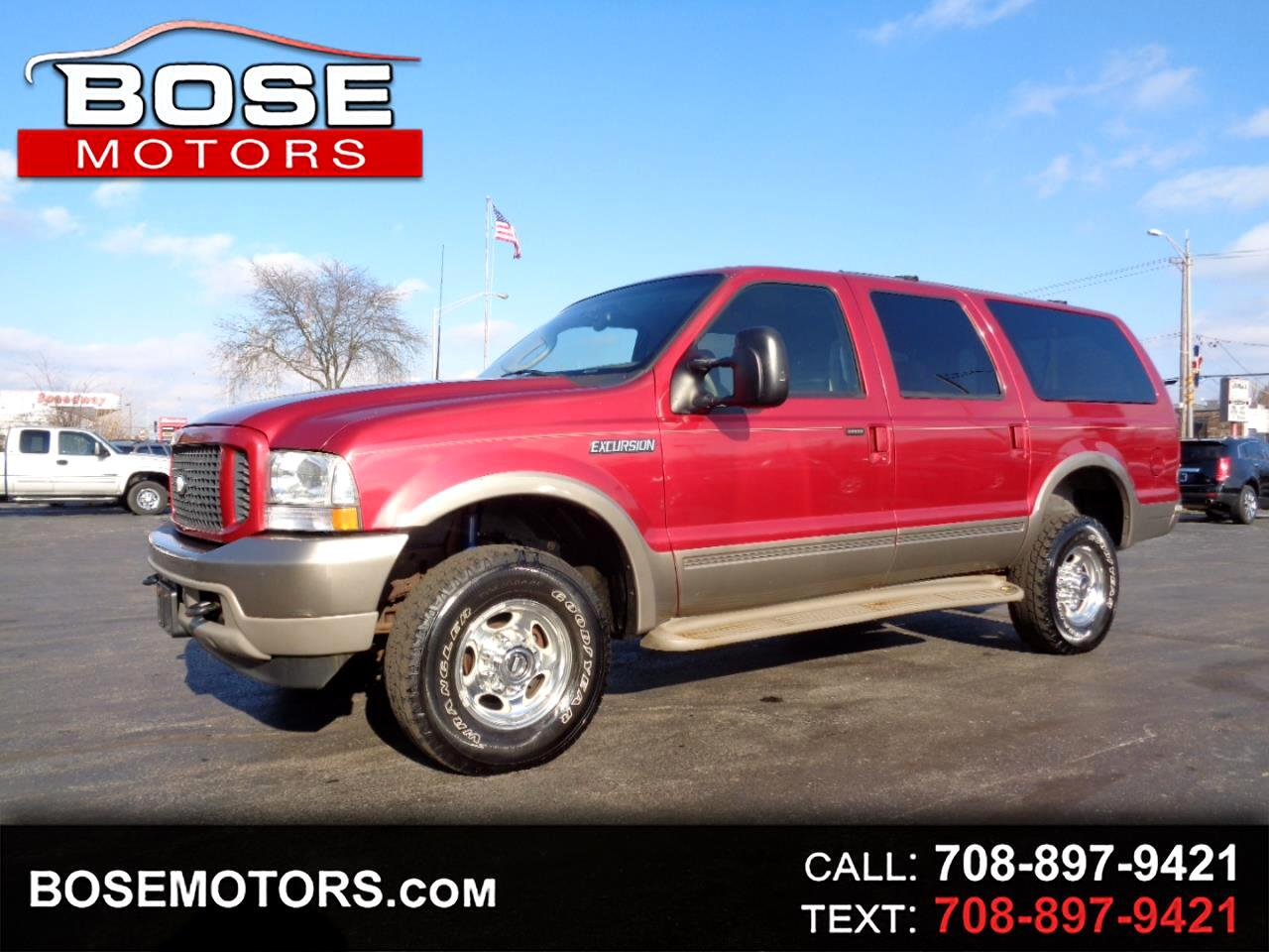 2003 Ford Excursion Eddie Bauer 6.8L 4WD
