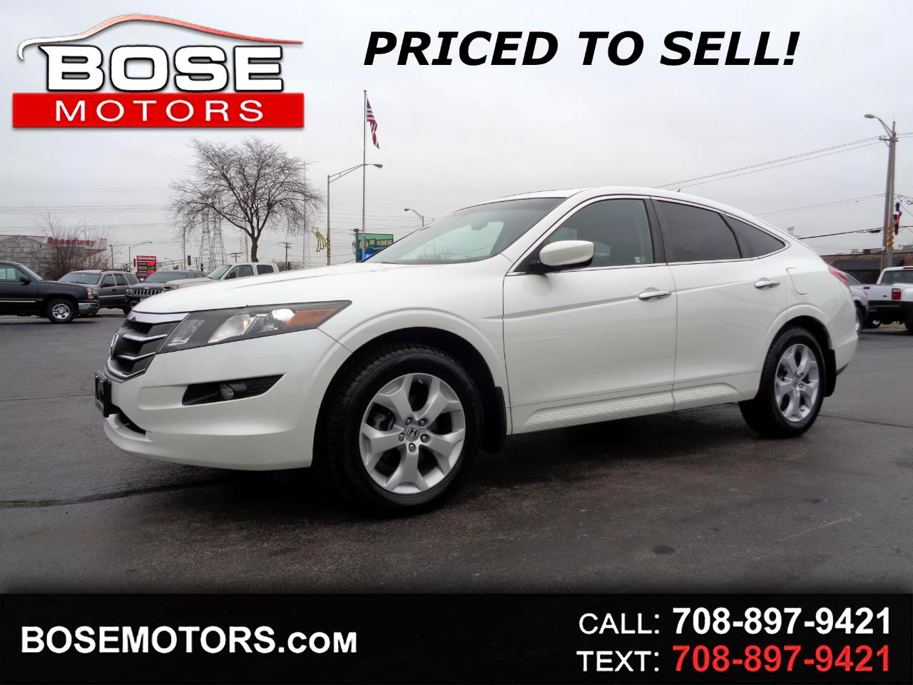 2011 Honda Accord Crosstour EX-L 4WD 5-Spd AT w/Nav