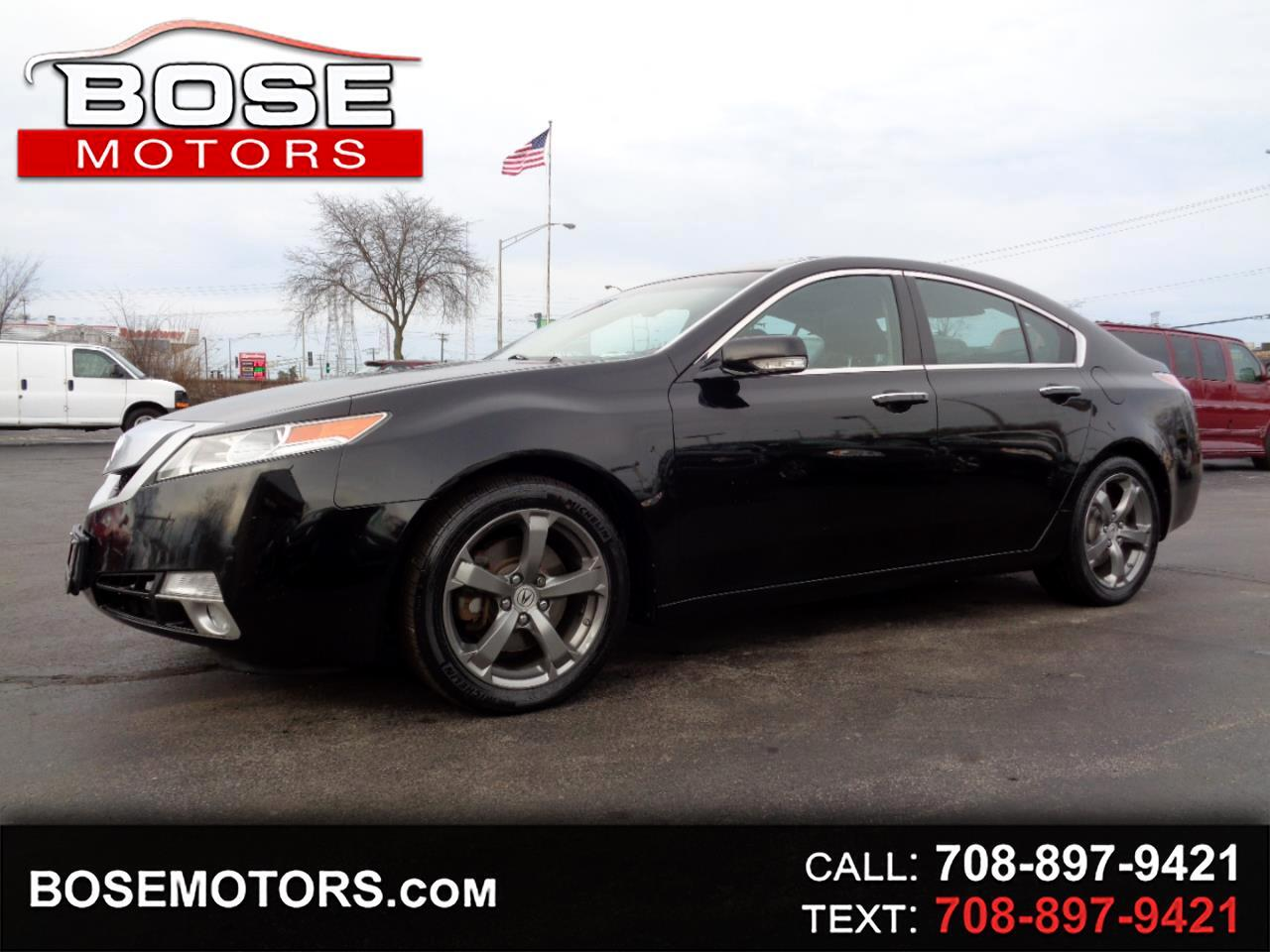 2011 Acura TL 5-Speed AT SH-AWD with Tech Package