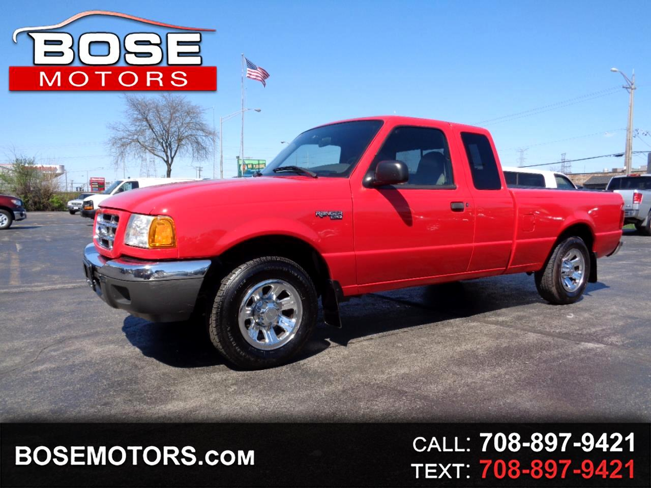 2001 Ford Ranger XLT SuperCab 4.0 w/Appearance 2WD