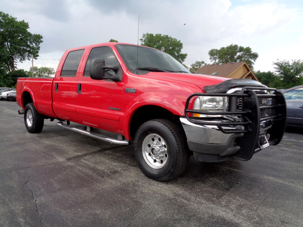 2002 Ford F-350 SD Lariat Crew Cab Long Bed 4WD
