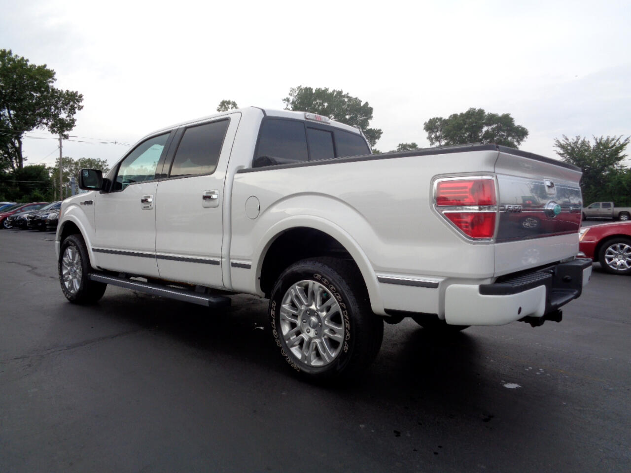 Ford F-150 Platinum SuperCrew 5.5-ft. Bed 4WD 2010