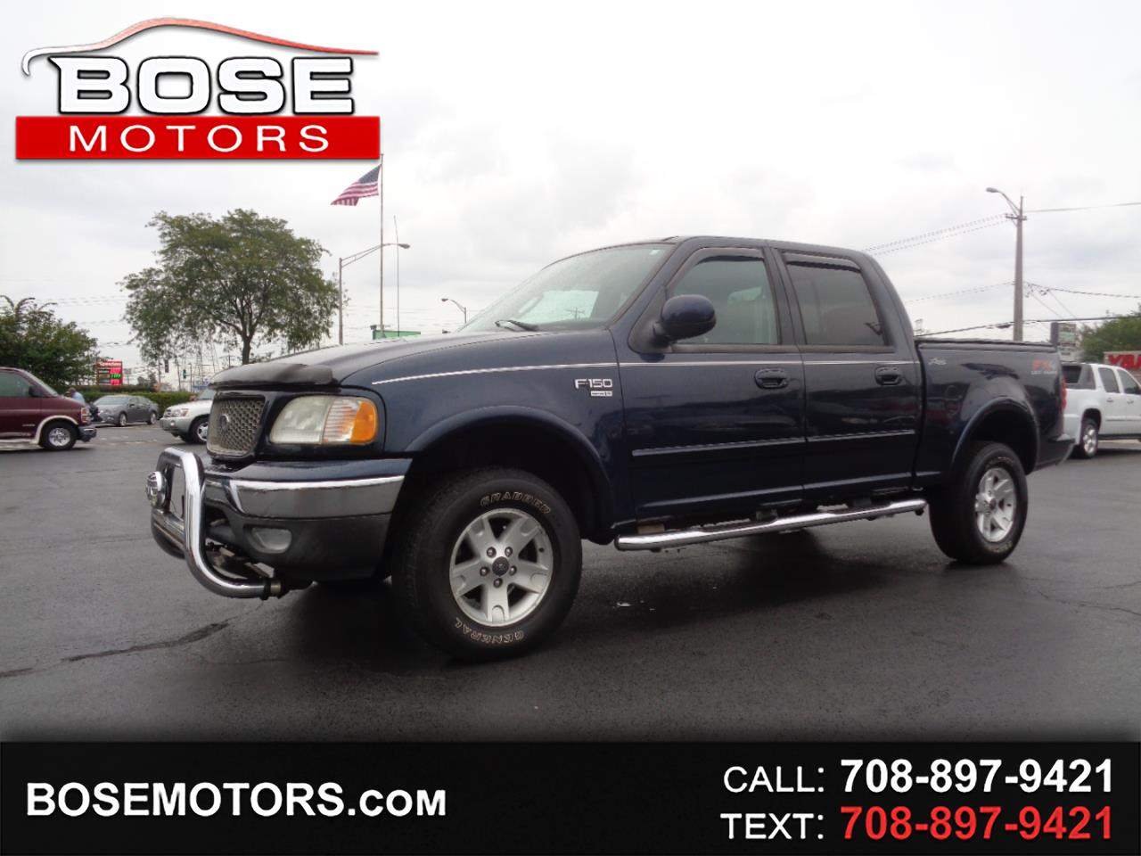 Ford F-150 Lariat SuperCrew 4WD 2003