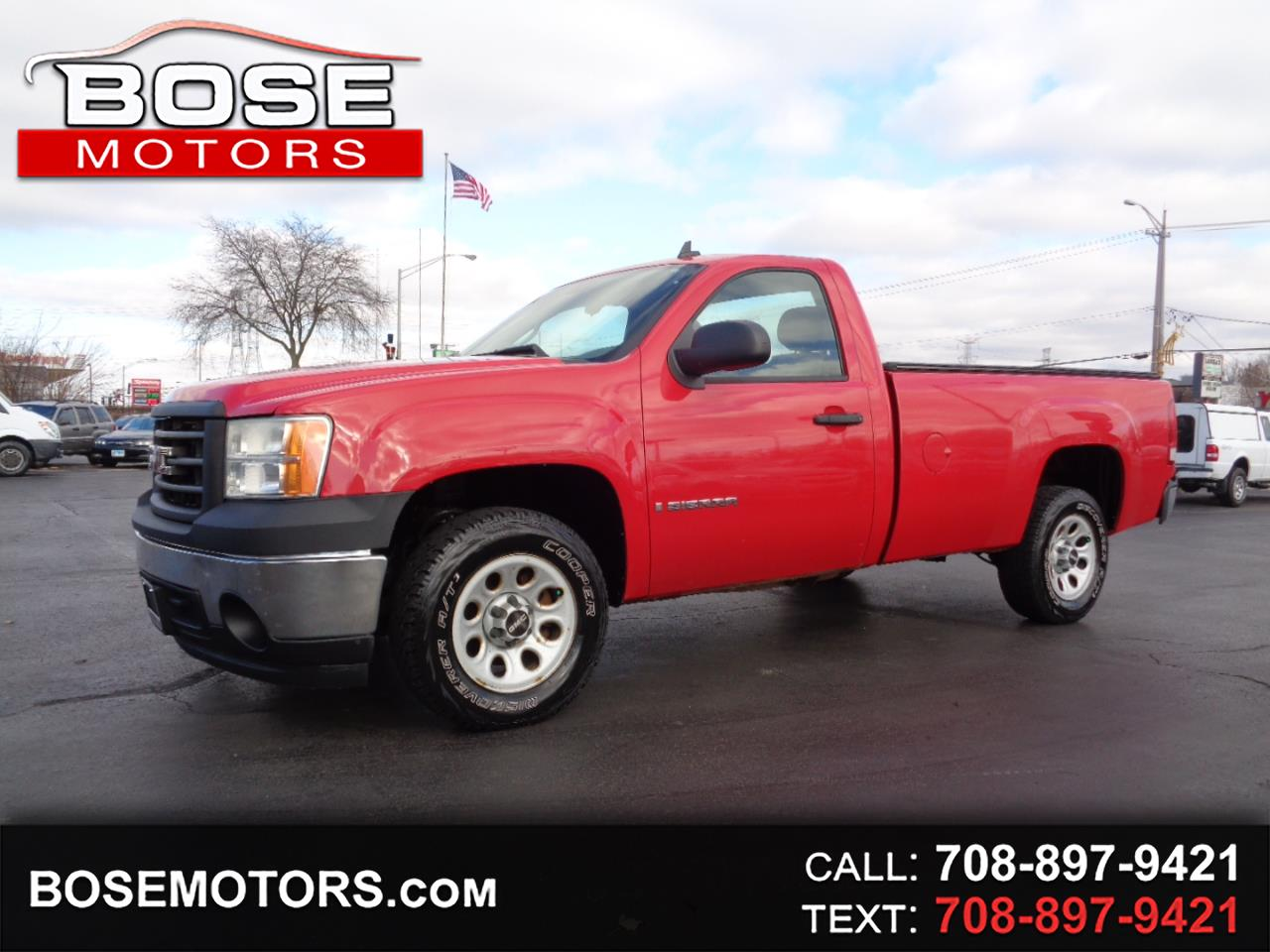 GMC Sierra 1500 SLE1 Std. Box 2WD 2008
