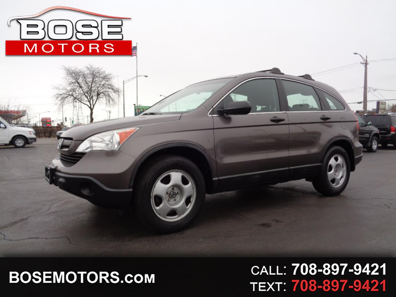 Honda CR-V LX 4WD 5-Speed AT 2009