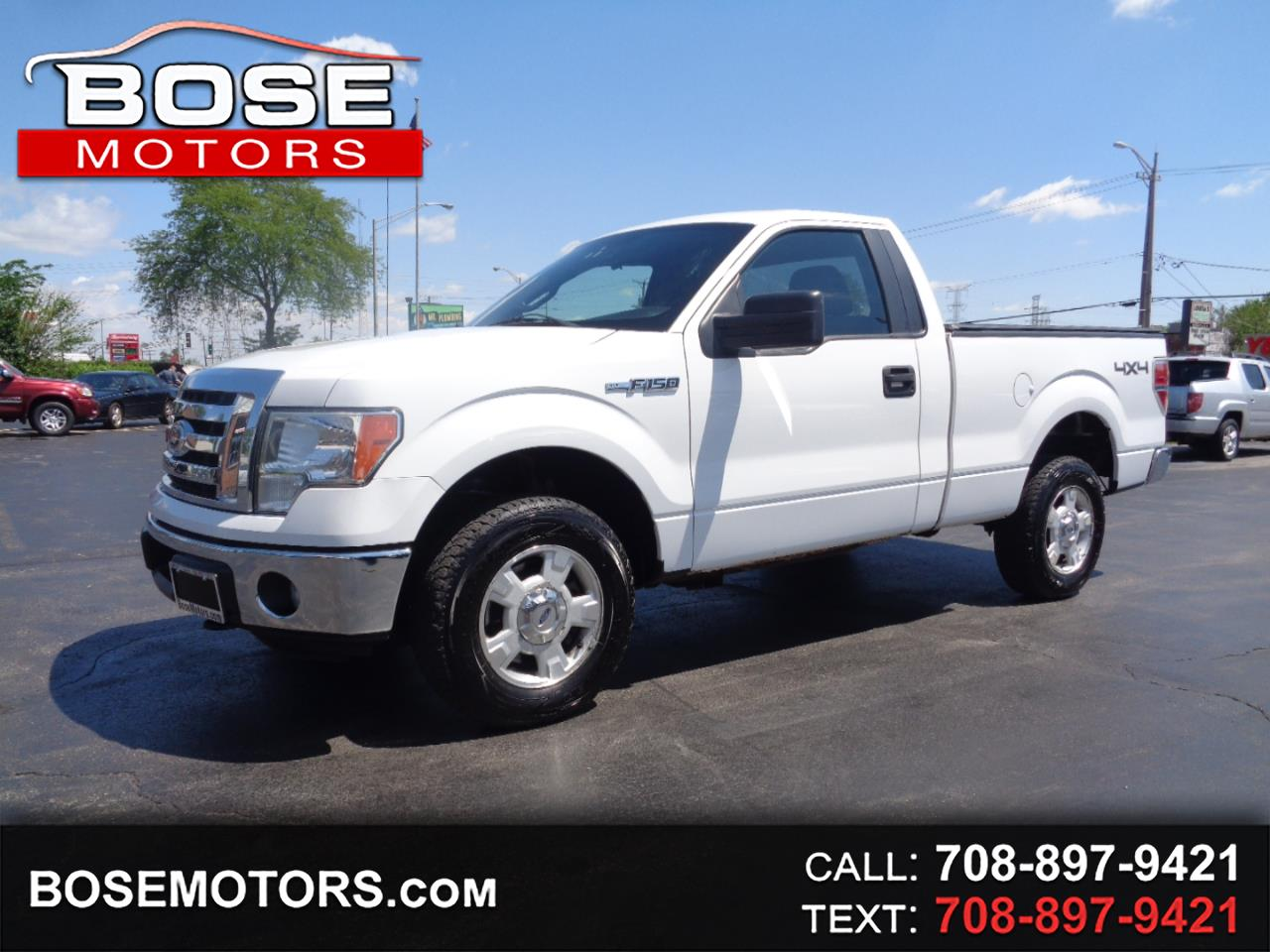 Ford F-150 XLT 6.5-ft. Bed 4WD 2011