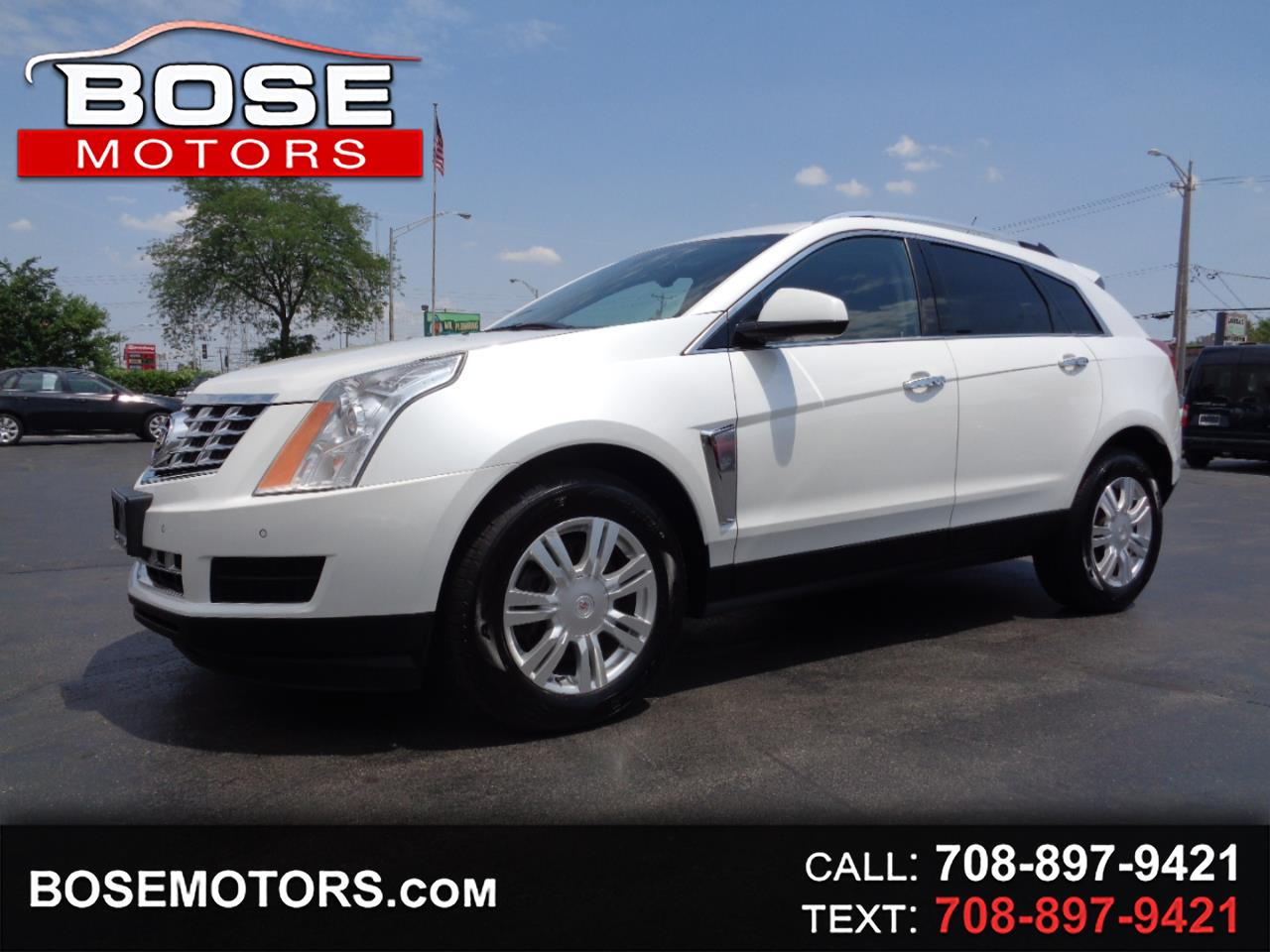 Cadillac SRX AWD Luxury Collection 2013