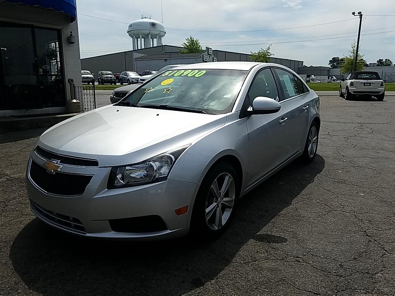 used 2014 chevrolet cruze 2lt auto for sale in henderson nc 27536 auto mart of henderson auto mart of henderson