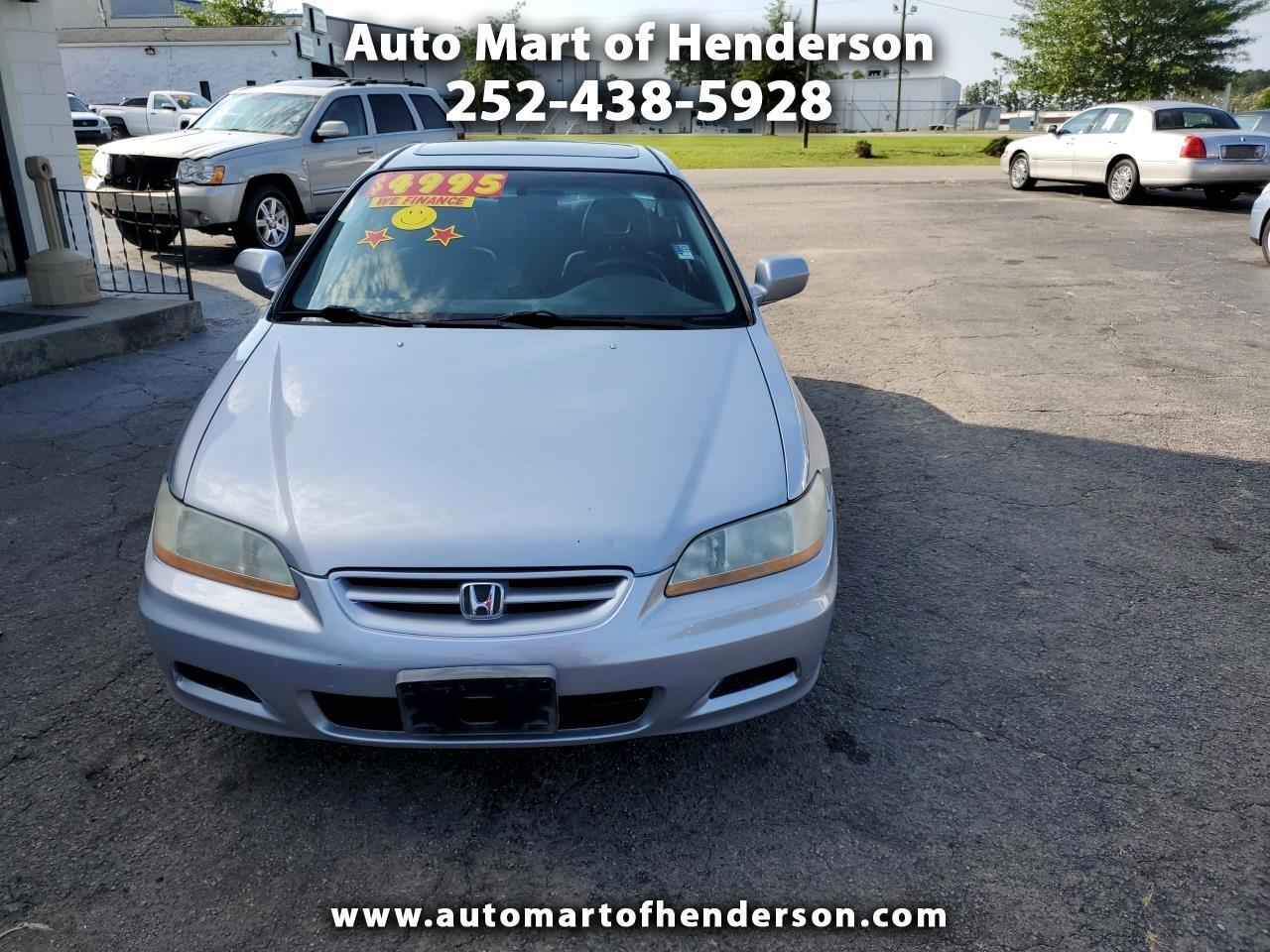 2002 Honda Accord EX V6 coupe