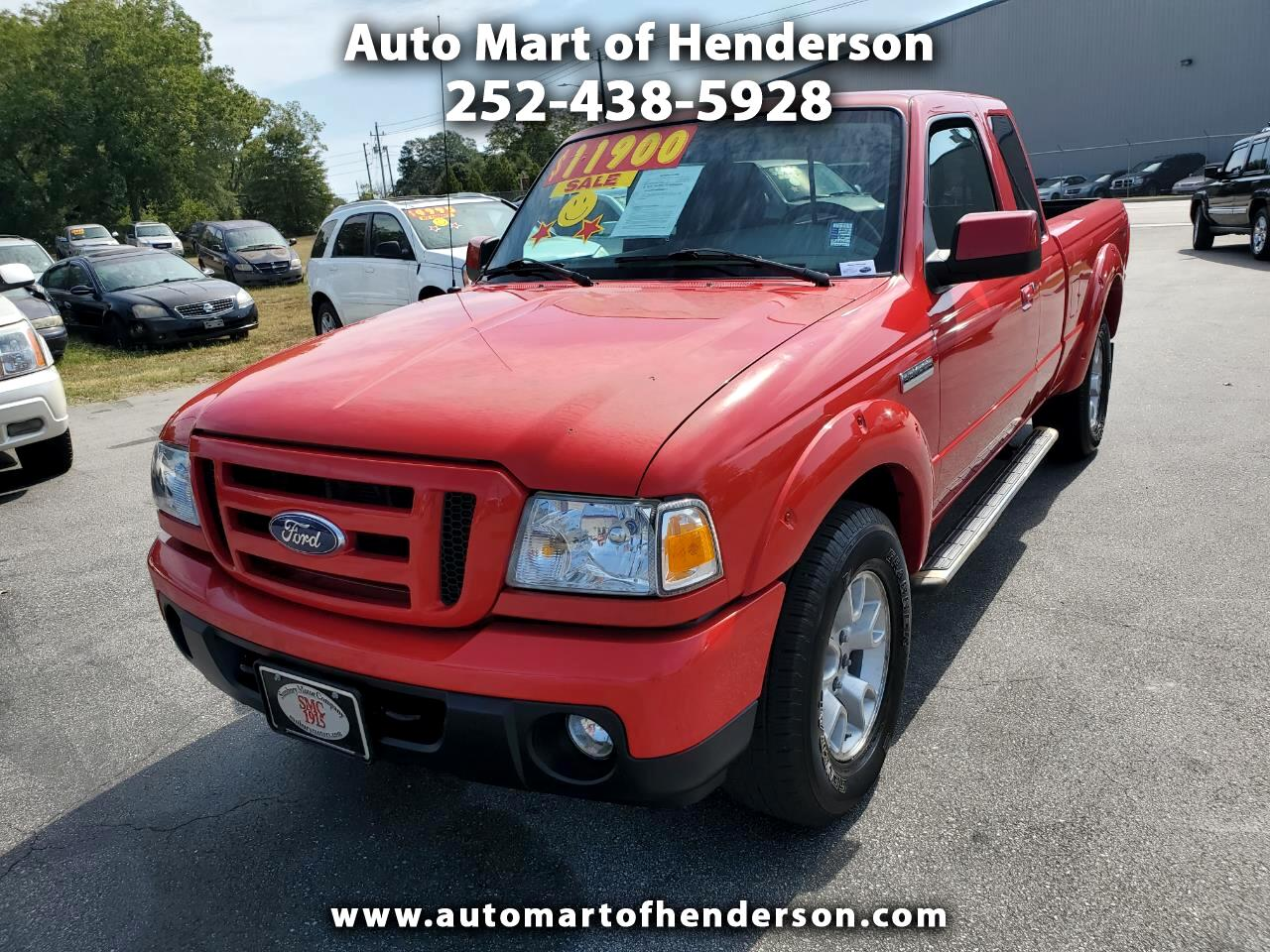 2010 Ford Ranger Sport SuperCab 4-Door 4WD