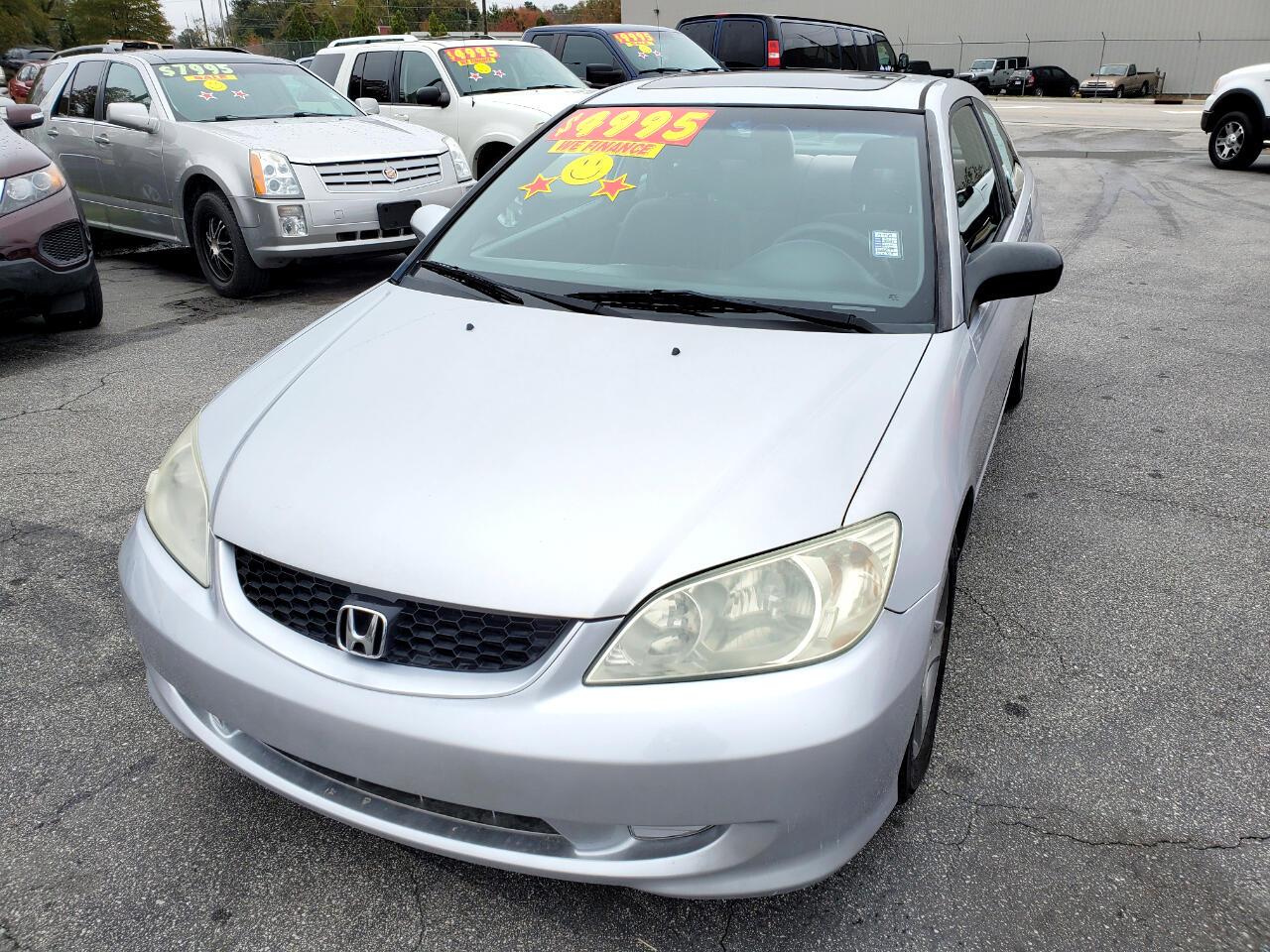Honda Civic EX Coupe AT 2004