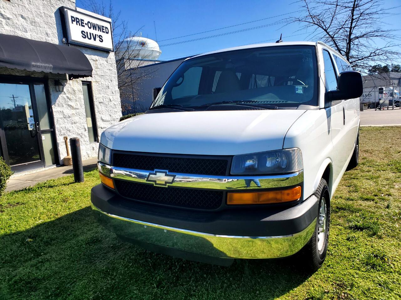 Chevrolet Express LT 3500 Extended 2012