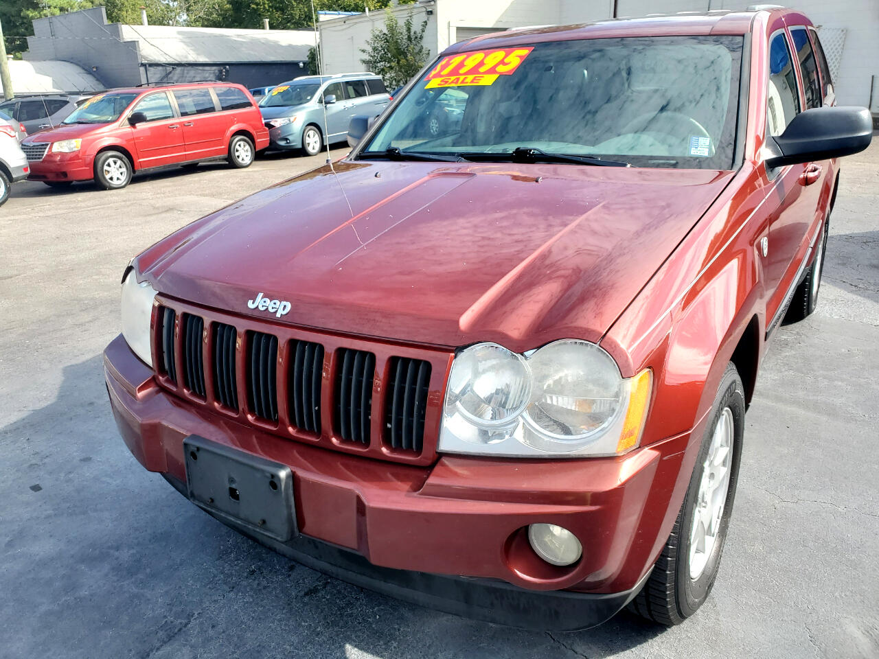 Used 2007 Jeep Grand Cherokee 4wd 4dr Laredo For Sale In Henderson Nc 27536 Auto Mart Of Henderson