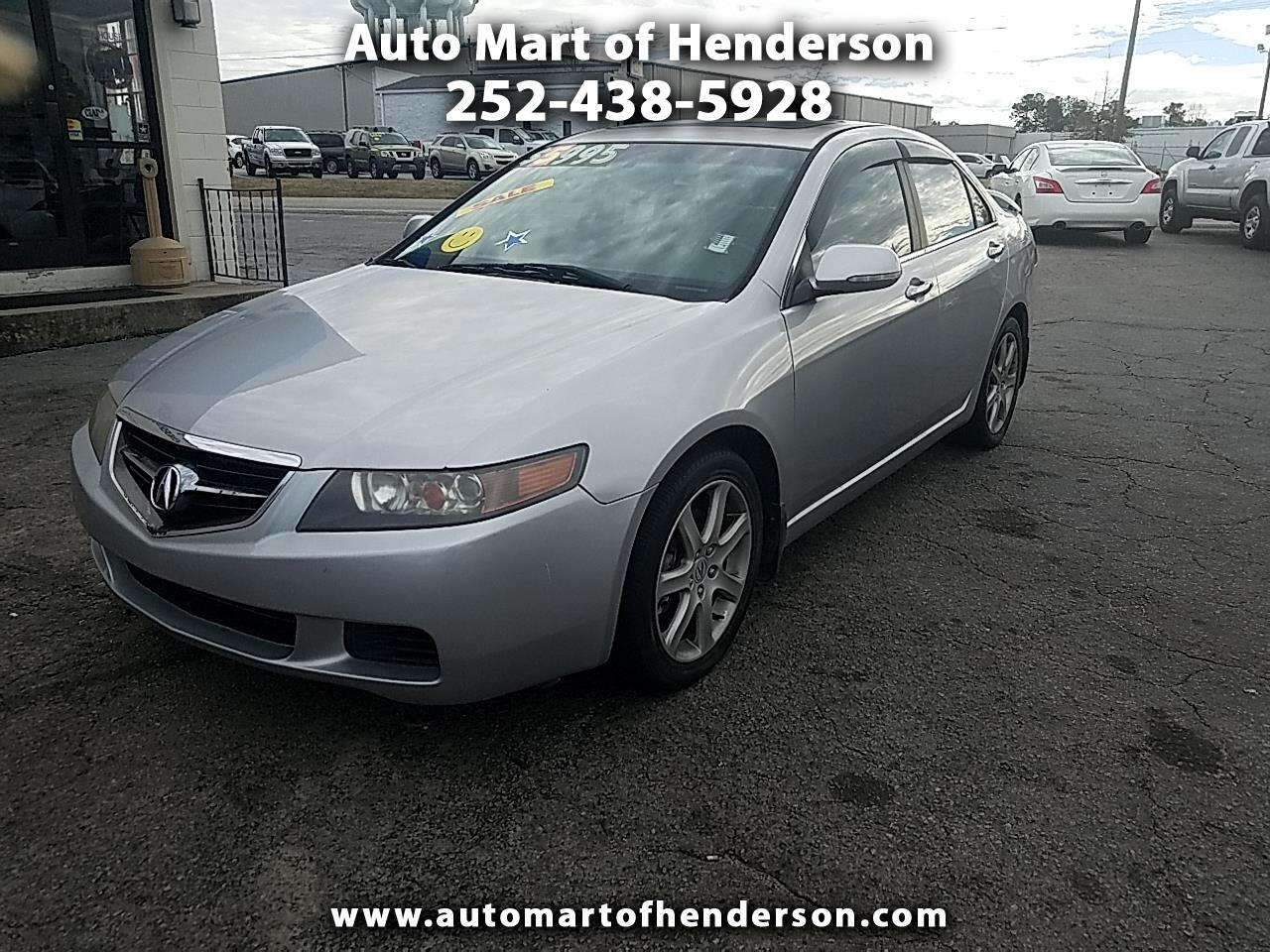 2004 Acura TSX 6-speed MT