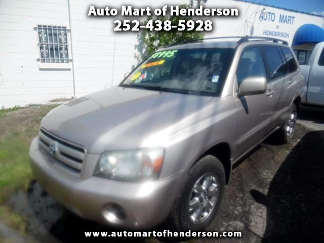 2004 Toyota Highlander Limited V6 4WD