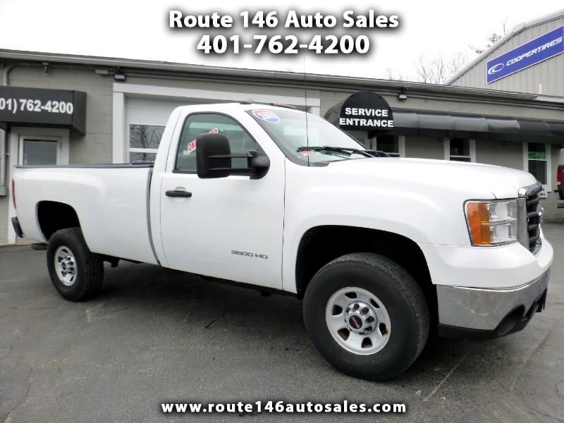 2010 GMC Sierra 3500HD Work Truck Long Box SRW