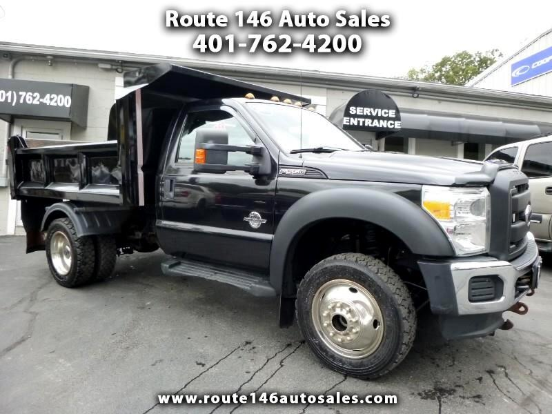 2015 Ford F-550 Regular Cab DRW 4WD