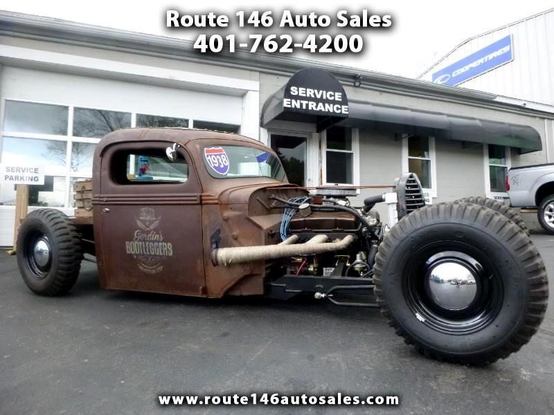 1938 Ford Custom Rat Rod