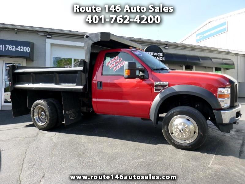 2009 Ford F-550 Regular Cab 4WD DRW