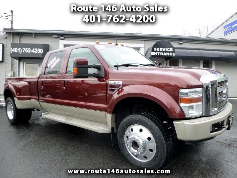 2008 Ford F-450 SD King Ranch Crew Cab 4WD