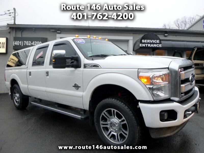2013 Ford F-250 SD Platinum Crew Cab Long Bed 4WD