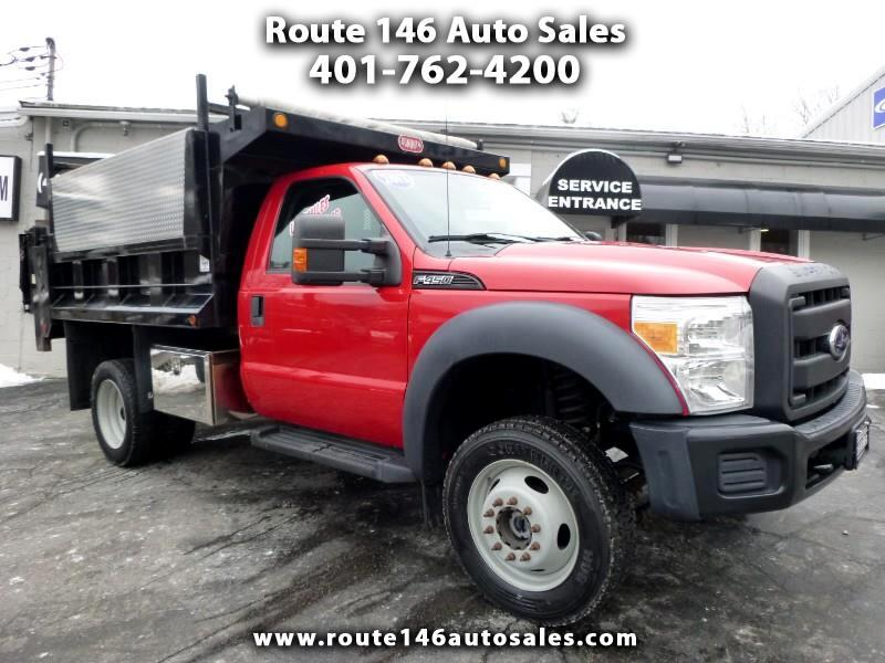 2013 Ford F-450 SD Regular Cab DRW 4WD