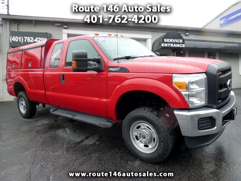 2015 Ford F-250 SD XL SuperCab Long Bed 4WD
