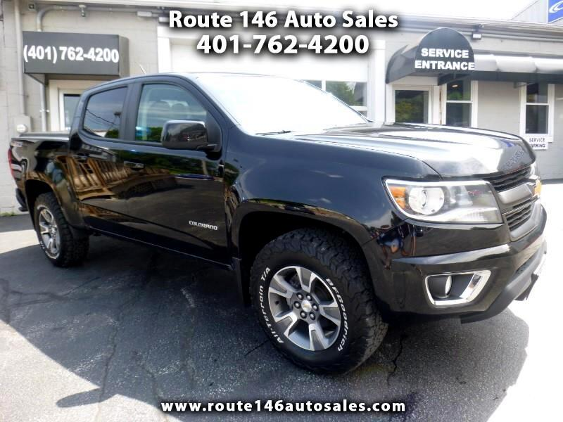 Chevrolet Colorado Z71 Crew Cab 4WD Short Box 2016