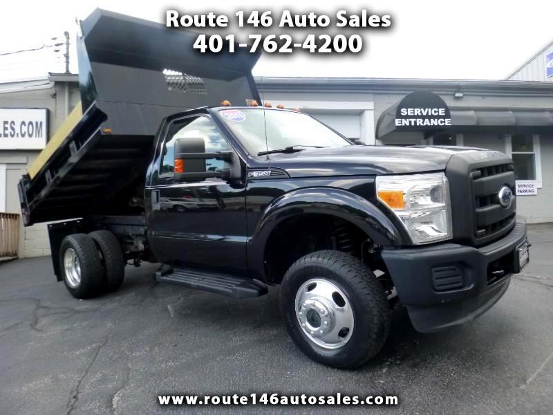 Ford F-350 SD XL DRW 4WD 2011