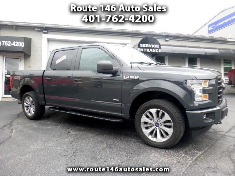 2017 Ford F-150 STX SuperCrew 5.5-ft Bed 4WD
