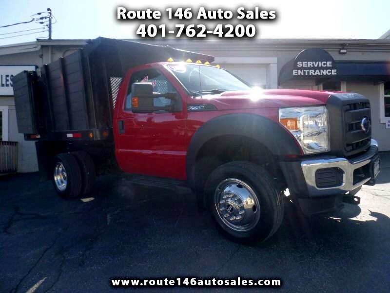 Ford F-550 Regular Cab DRW 4WD 2013