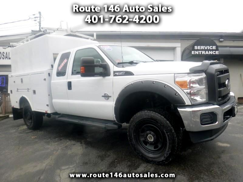 Ford F-350 SD XL SuperCab Long Bed 4WD 2015